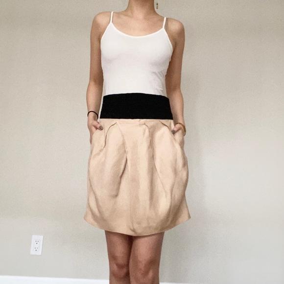 Zara Dresses & Skirts - Zara • Skirt in Champagne Colour